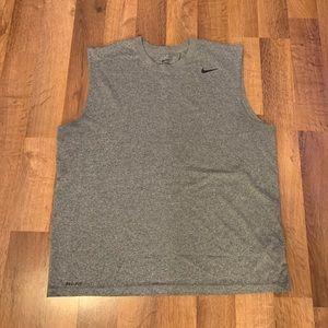 Nike Dri-Fit Grey tank top